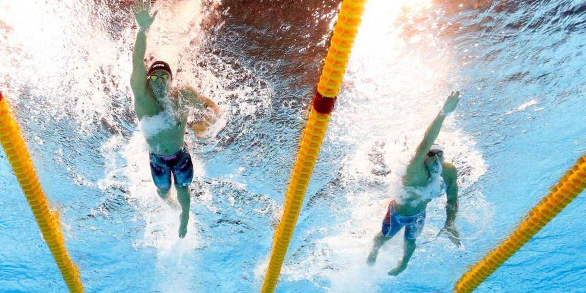 Team USA narrowly misses podium in Men's 400m Freestyle