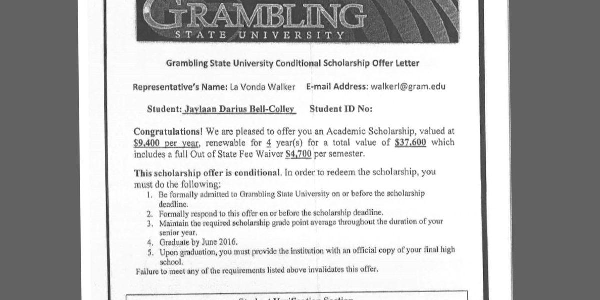 Expert criticizes GSU scholarship letter after Richmond family calls it 'fraud'