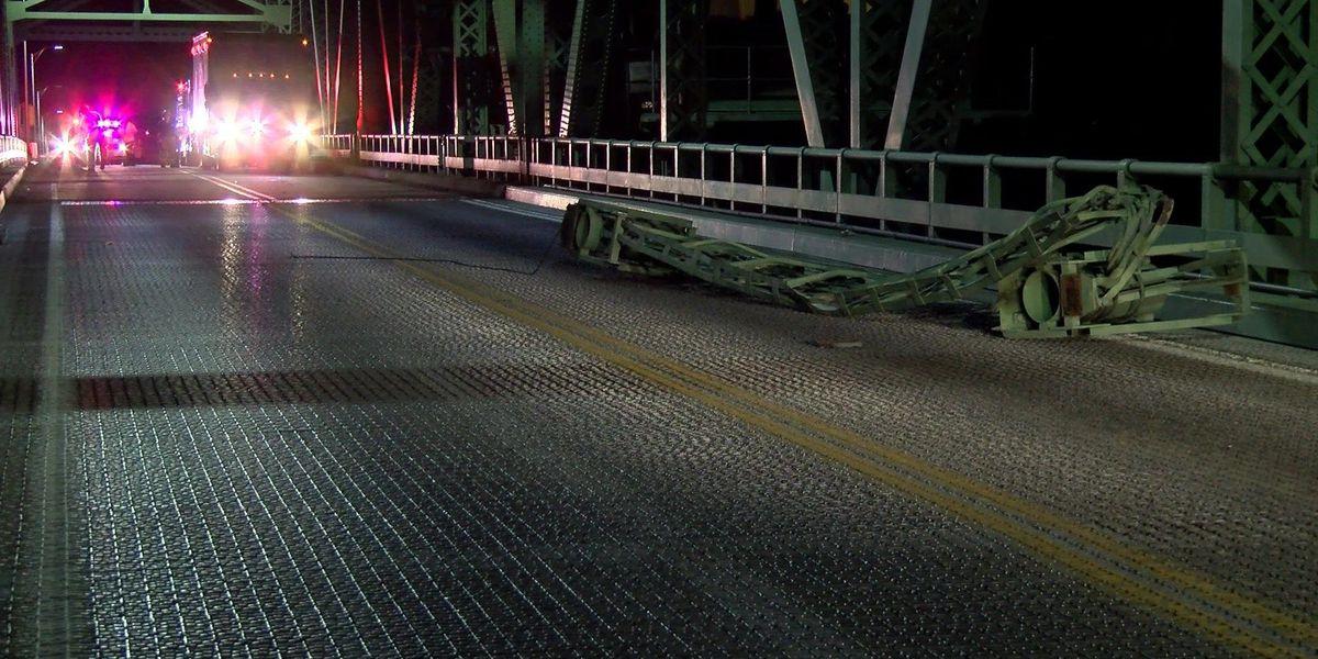 Benjamin Harrison Bridge back open after earlier crash