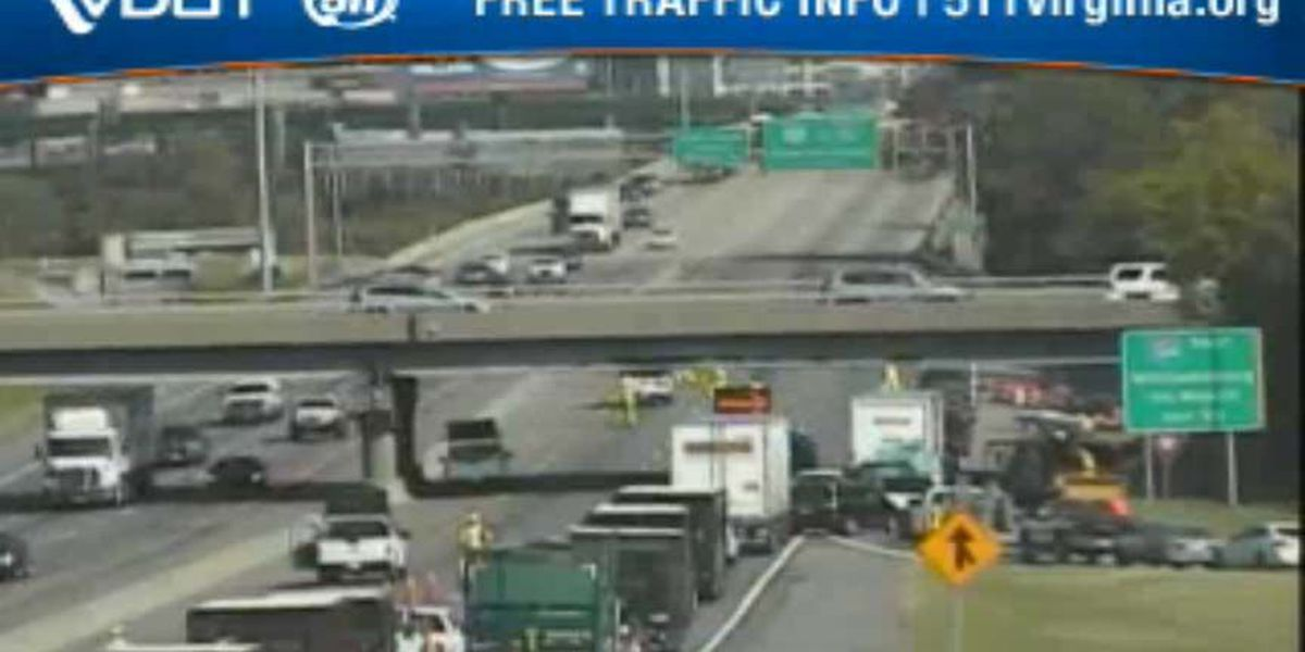 All lanes of I-95N back open in Richmond after cleanup