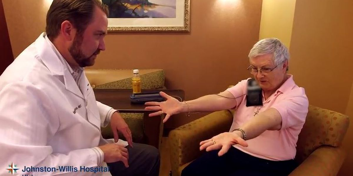 Johnston-Willis Hospital offers hope for those suffering from essential tremors, Parkinson's disease