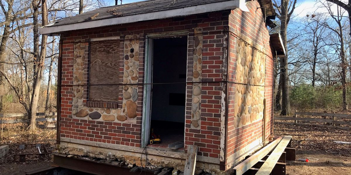 Historic Chesterfield cottage moved to a new home