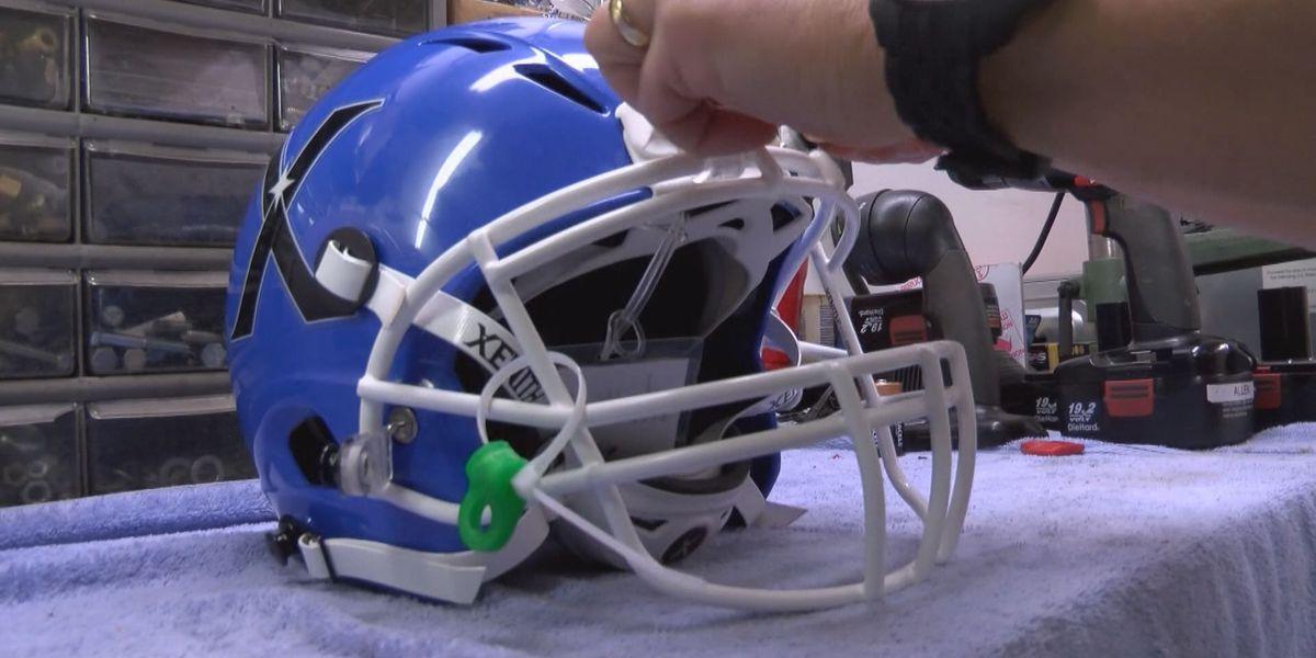 Chesterfield inventor creates revolutionary football gear