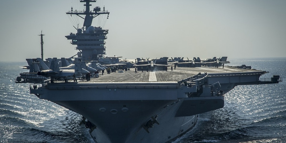 Most U.S. aircraft carriers sit idle in Virginia ports