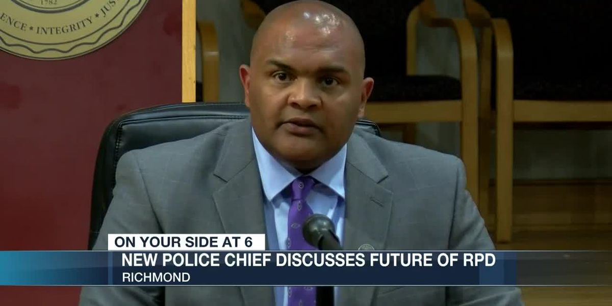 Richmond's new police chief talks about past challenges and new ones