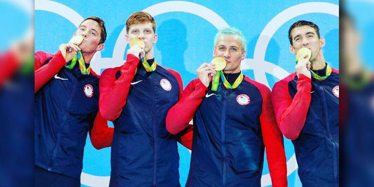 Henrico's own Olympic gold medalist Townley Haas talks with NBC12