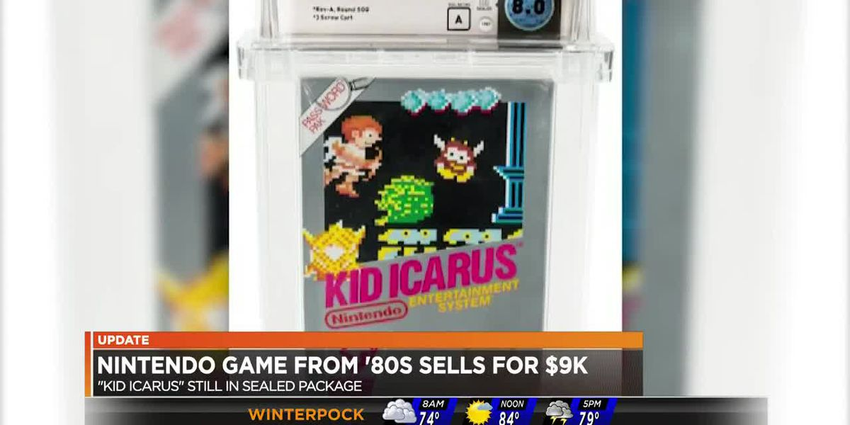 '80s Nintendo game sells for $9,000