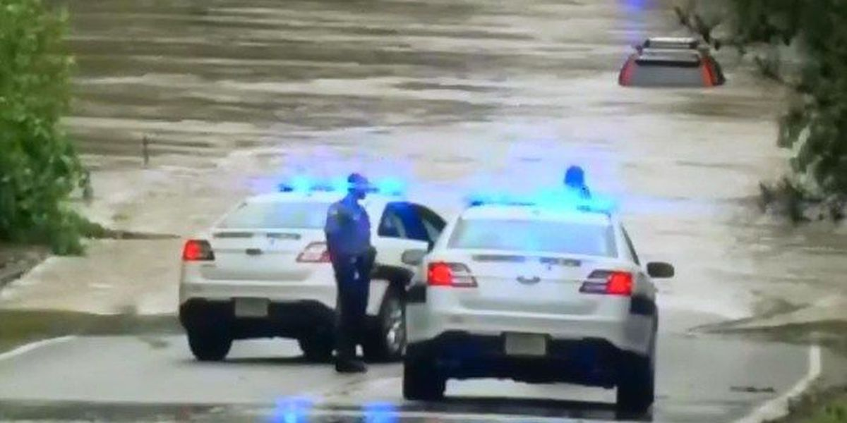 Flooding in Central Virginia leads to car rescues, closed roads, trees down