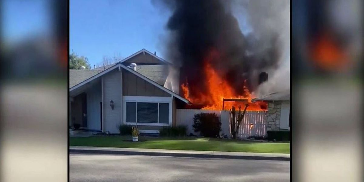 Grandmother runs into burning building to save 85-year-old neighbor