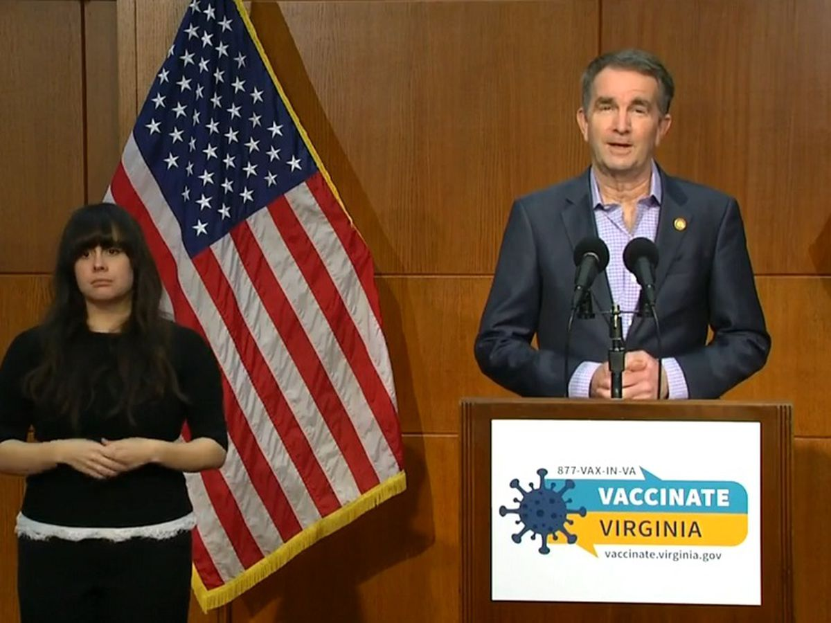 Gov. Northam to give update on vaccine rollout