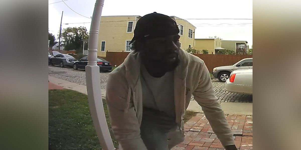 Caught on Camera: Police searching for porch pirate