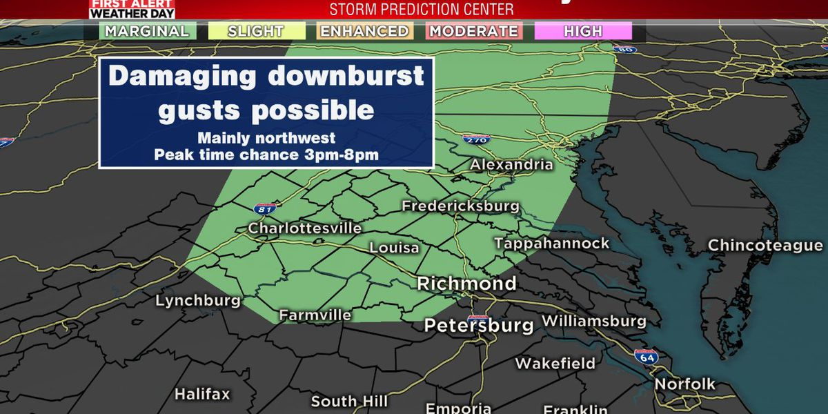 More strong storms possible Tuesday