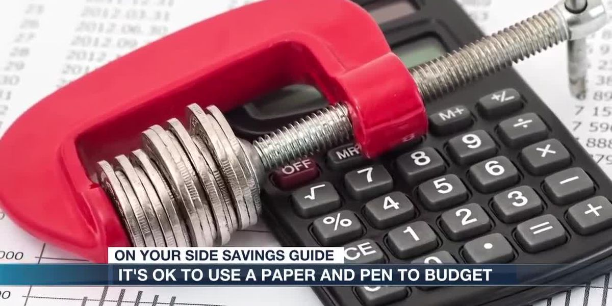 Old school budgeting with a pen and paper is still a good way to go