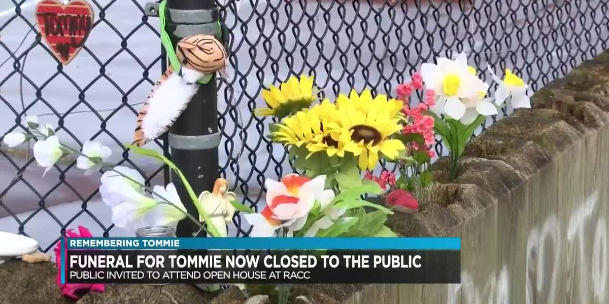 Changes in memorial service for Tommie