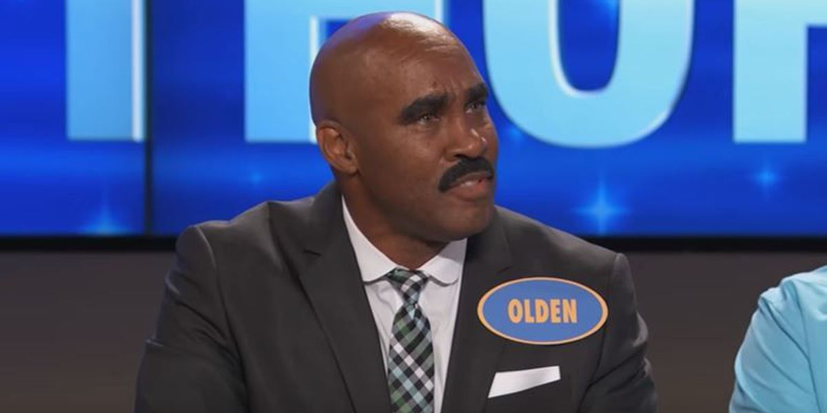Steve Harvey meets 'look-a-like' on 'Family Feud'