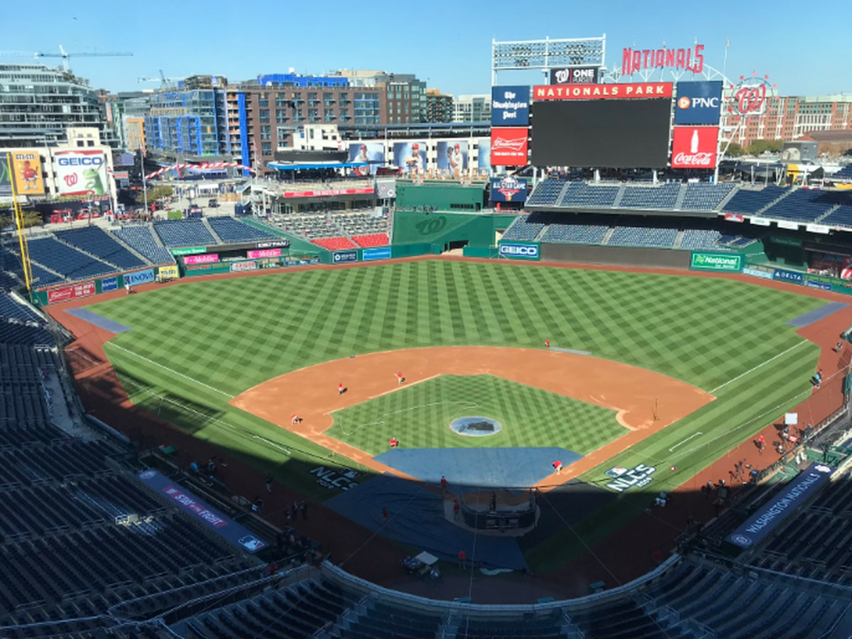 Two Washington Nationals players test positive for COVID-19