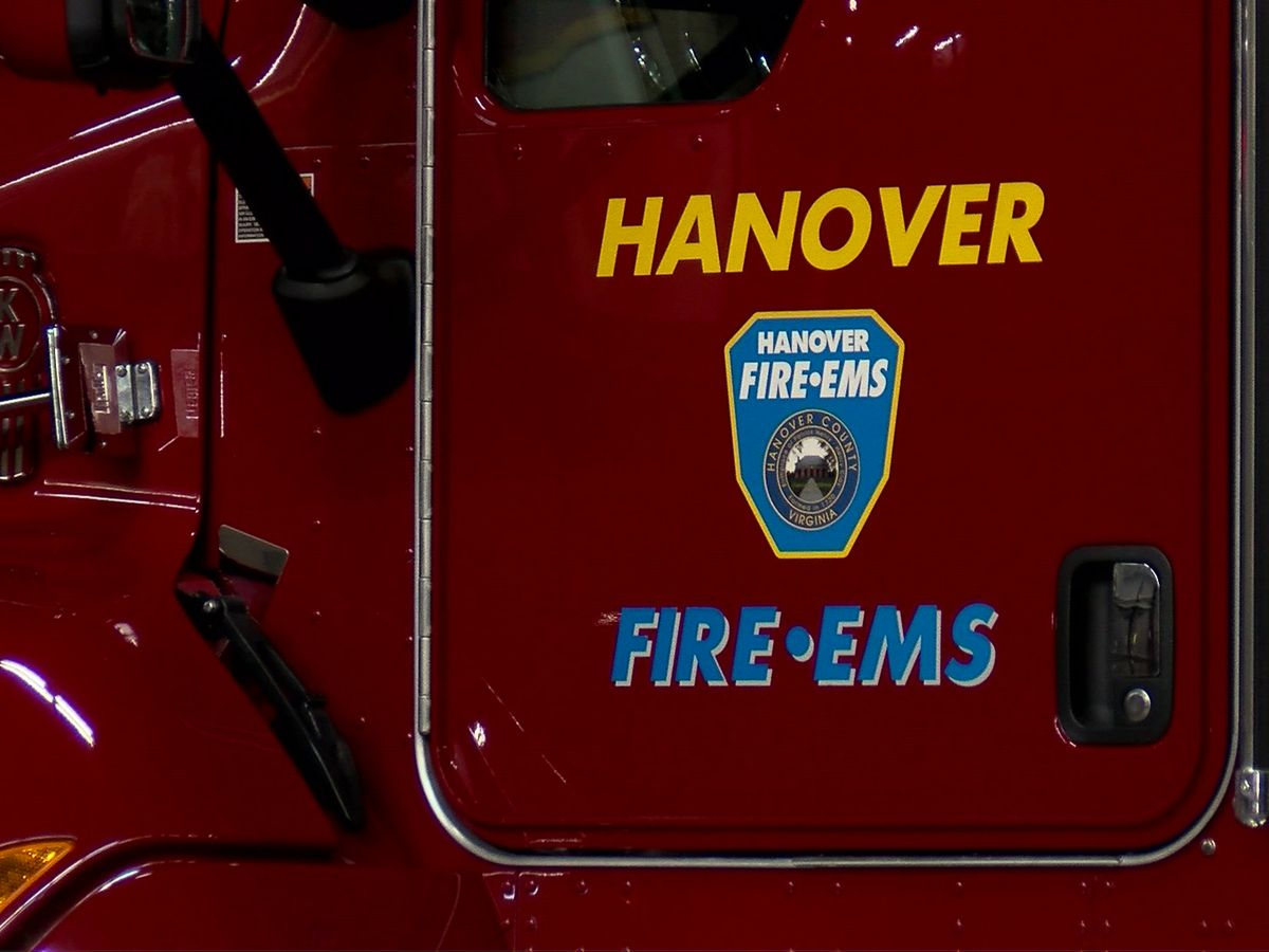 Hanover firefighter injured while responding to warehouse fire