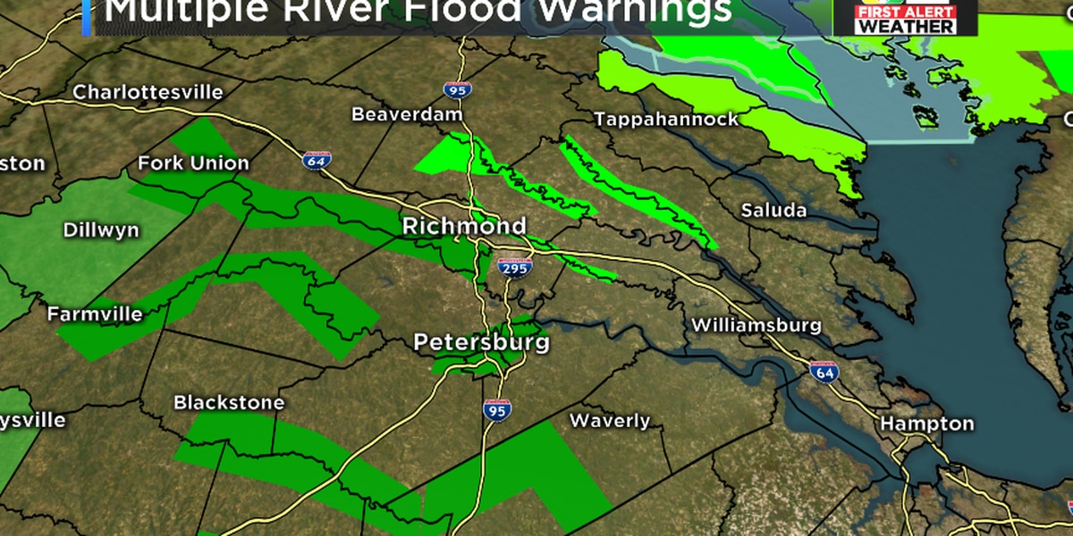 FIRST ALERT: Flooding rain event over, but watching the rivers