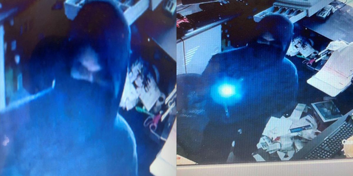 Police search for suspect who stole air compressor, cash from convenience store