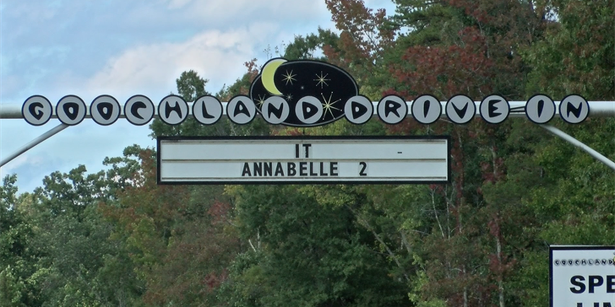 Goochland Drive-In Theater ranked nationally