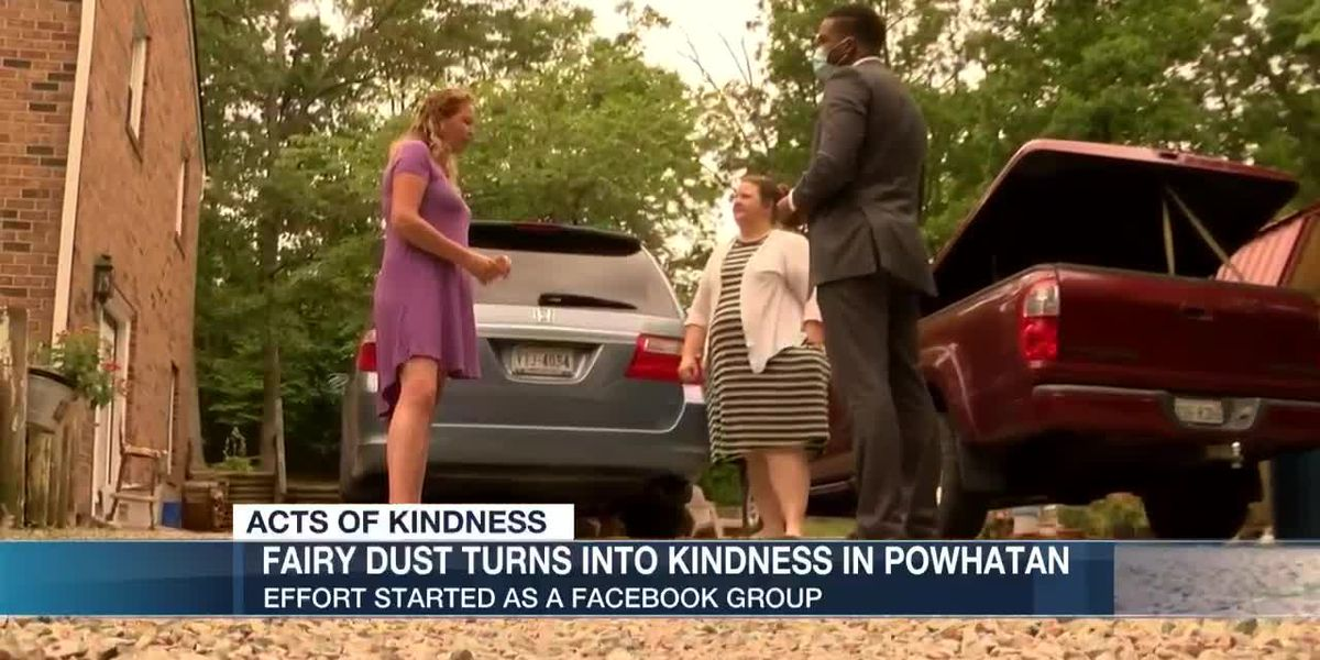 Fairy dust turns into kindness in Powhatan