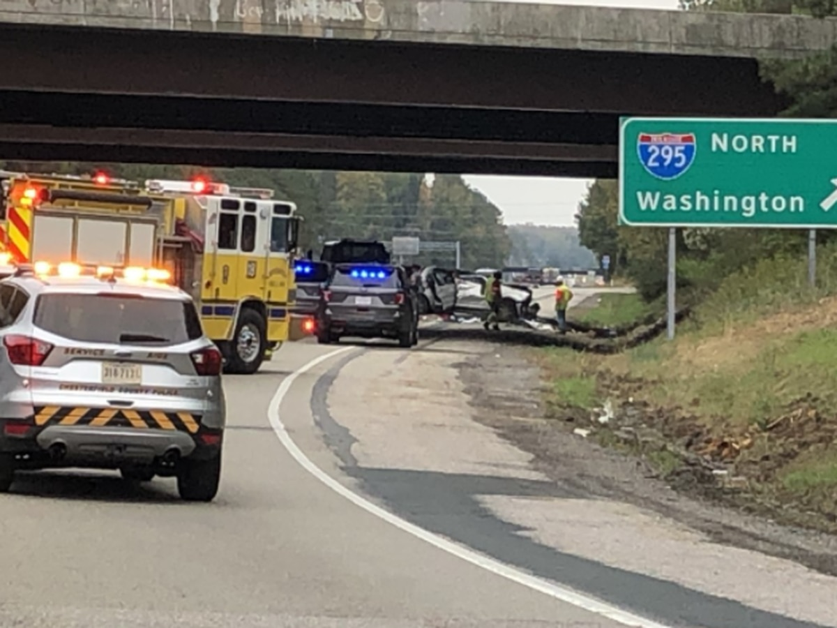Driver of car that crashed off I-295 onto Rt. 10 dies