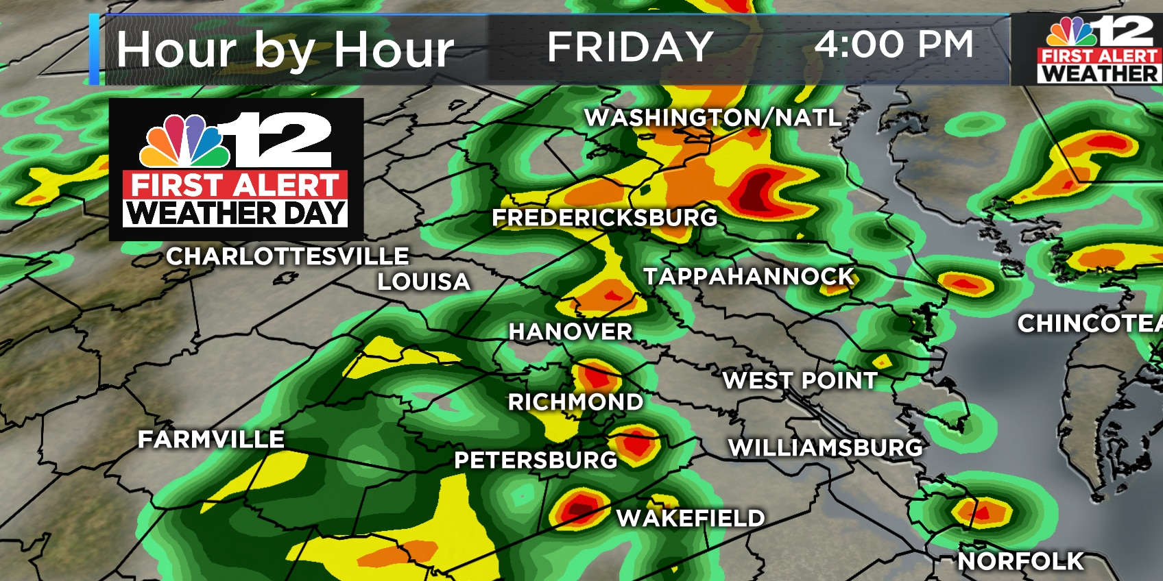 First Alert Weather Day: Thunderstorms likely Friday afternoon