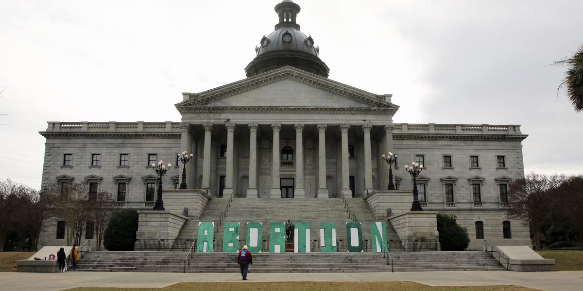 SC governor signs abortion ban; Planned Parenthood sues
