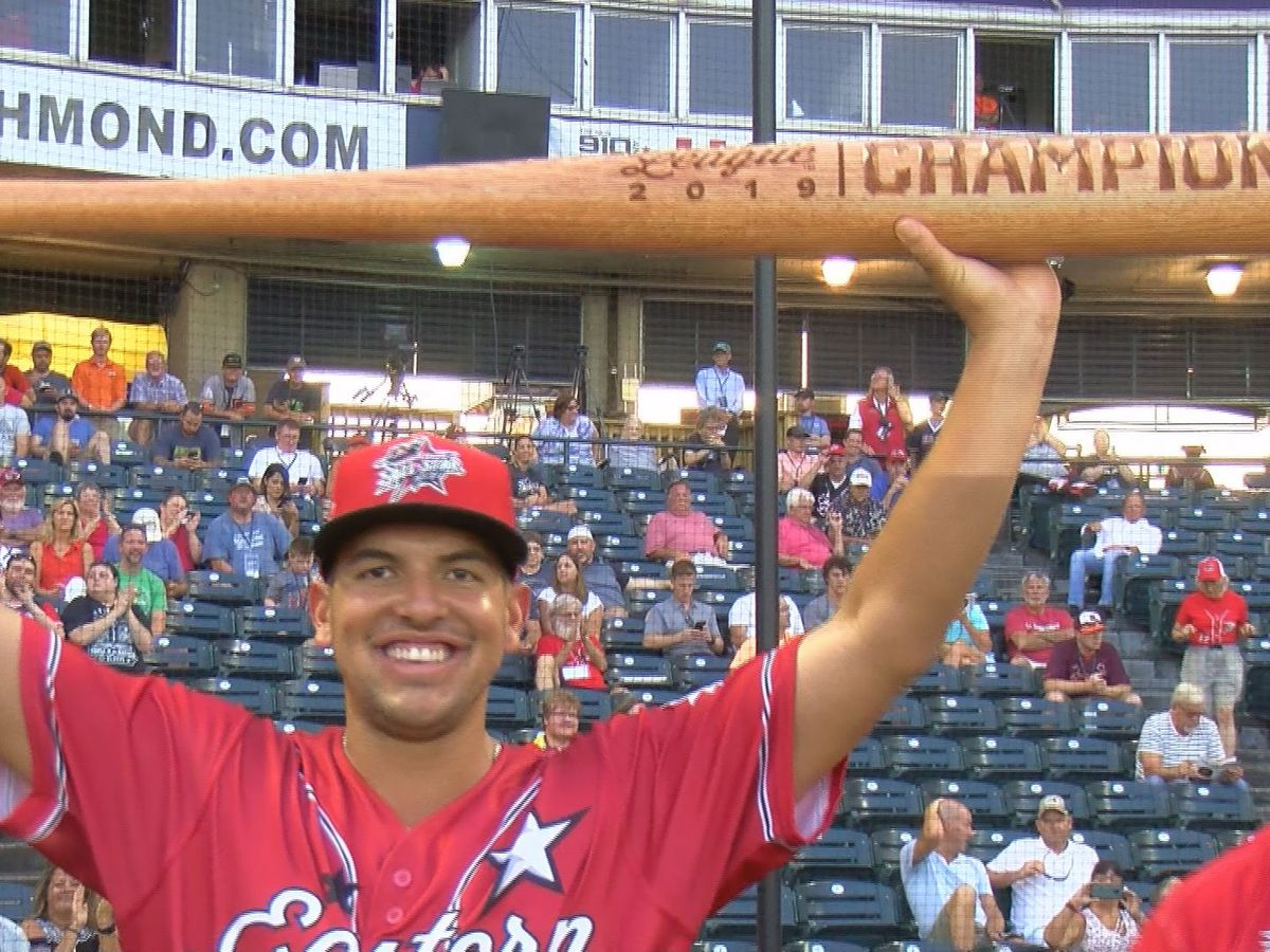 Eastern League's top hitters, celebrities, let loose during Home Run Derby
