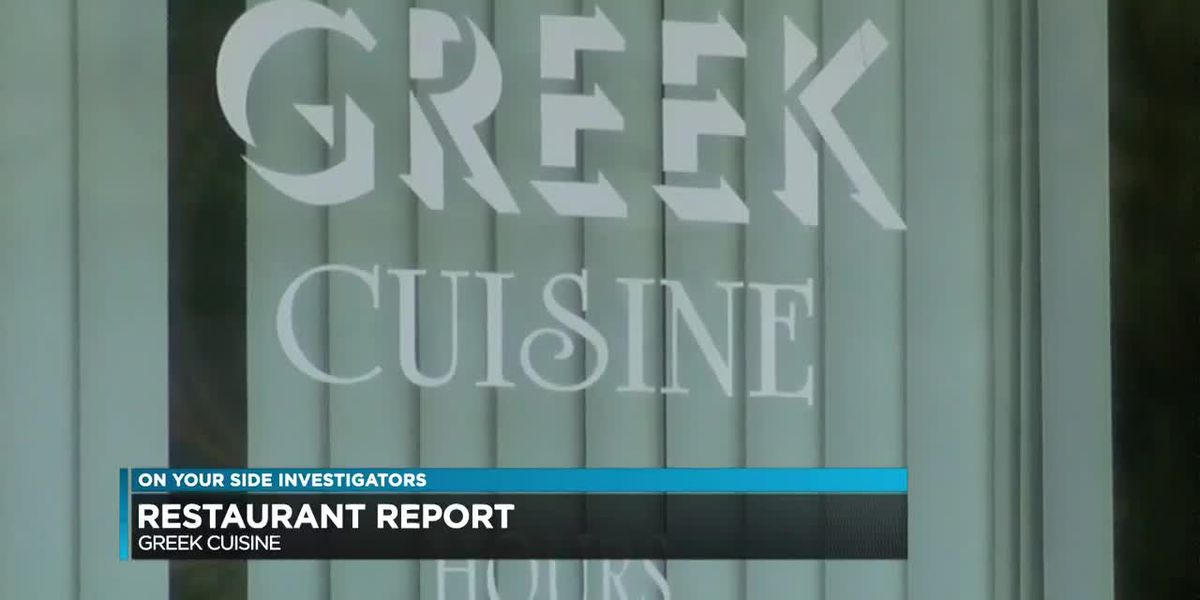 Restaurant Report: Greek restaurant hit with repeat violations