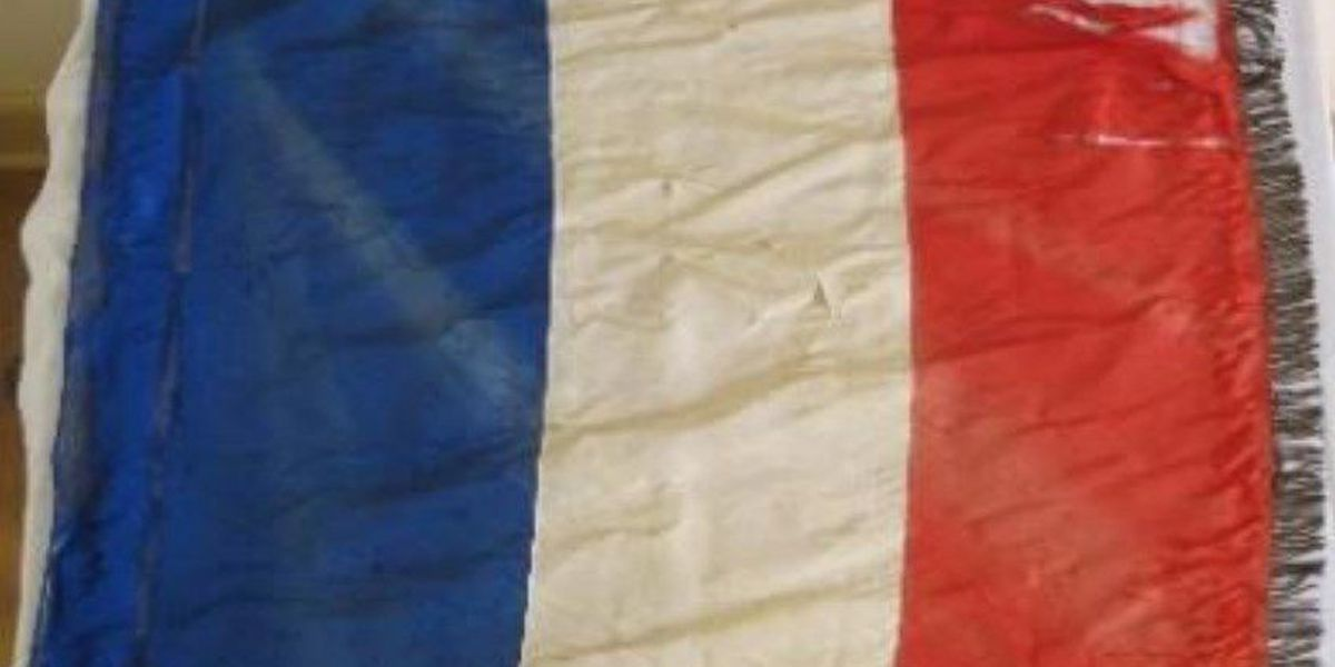 Paris 'peace' flag among this year's top endangered VA artifacts