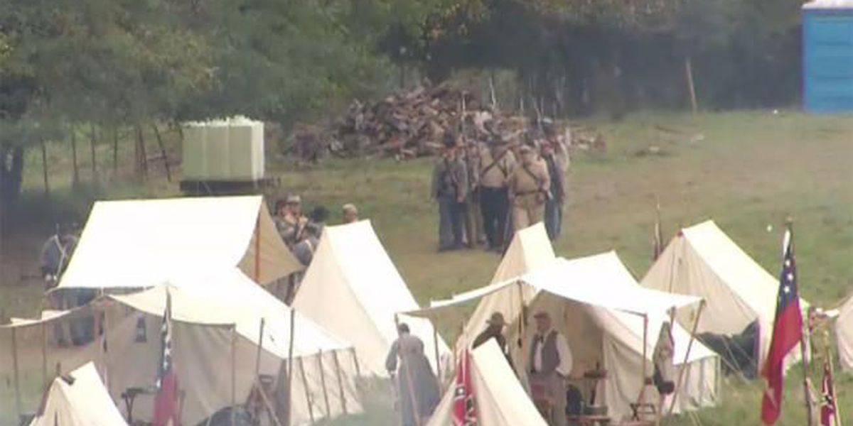 FBI investigating after suspicious device found at Civil War reenactment site