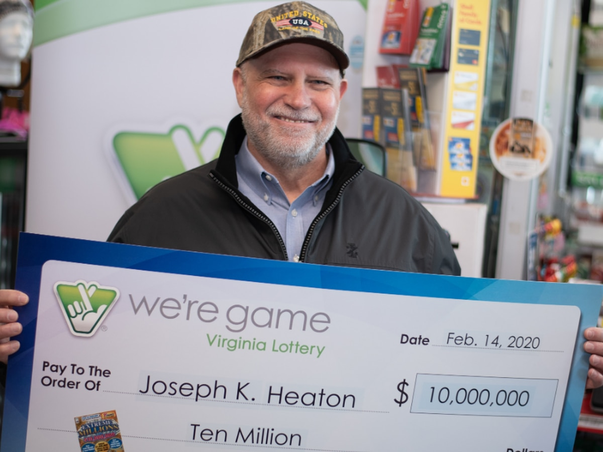 'My head has been spinning ever since': Va. man win $10 million with scratch off ticket