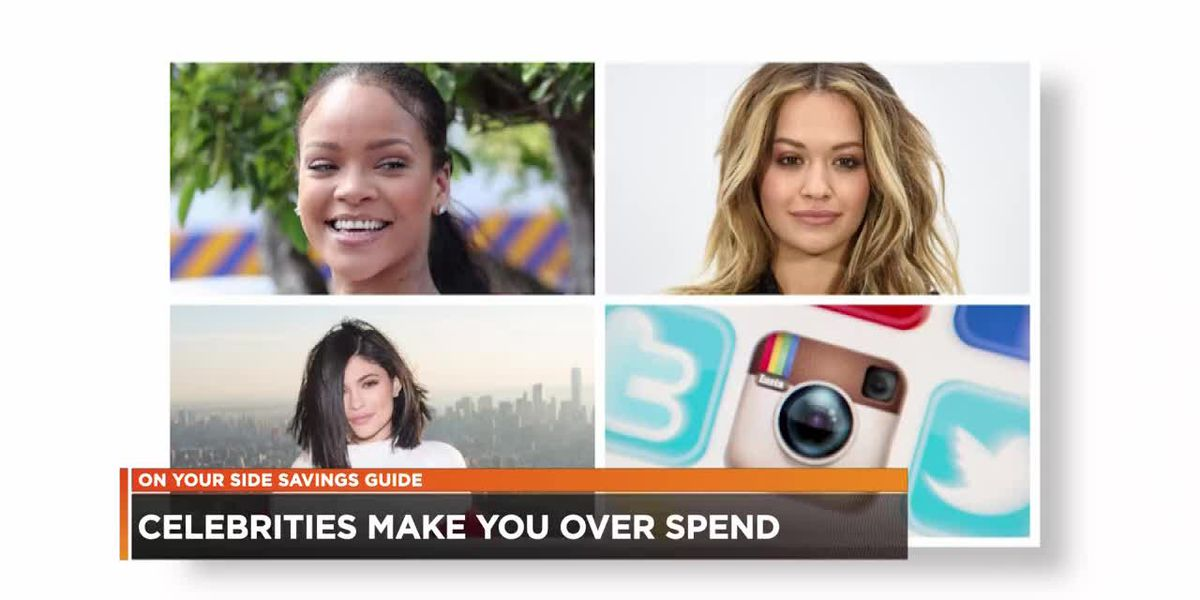 Research shows celebrities causing consumers to overspend