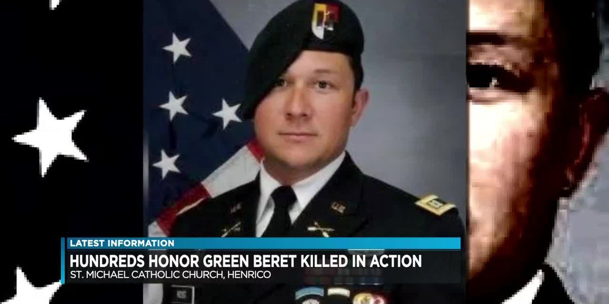 Hundreds honor Green Beret killed in action