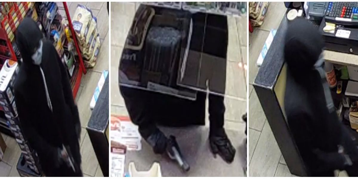 Police searching for masked armed robber