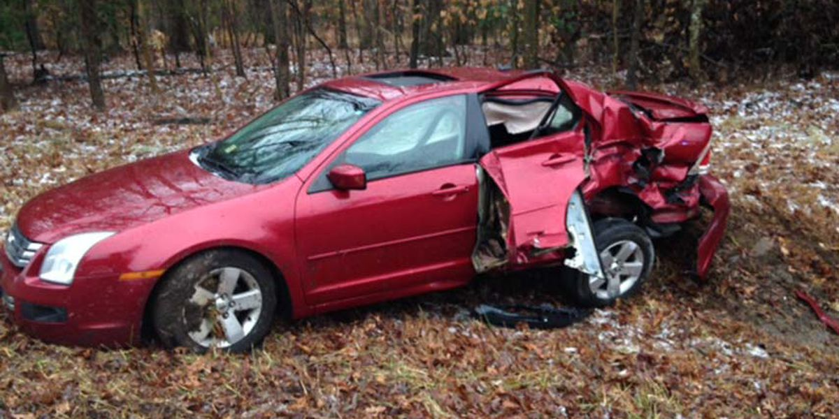 Car crashes into Chesterfield school bus