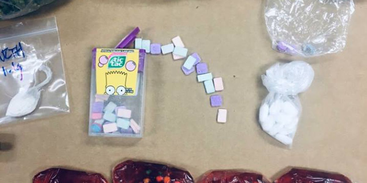 Columbus, GA police confiscate drugs disguised as candy as Halloween approaches