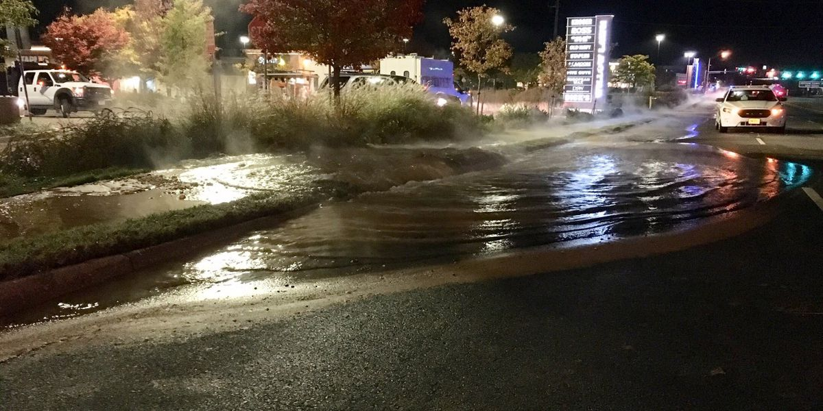 Lanes of W. Broad St. in Henrico reopen after water main break