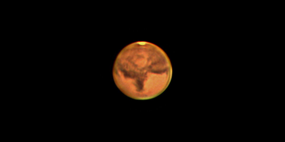 Mars: Shining bright on its closest approach in years