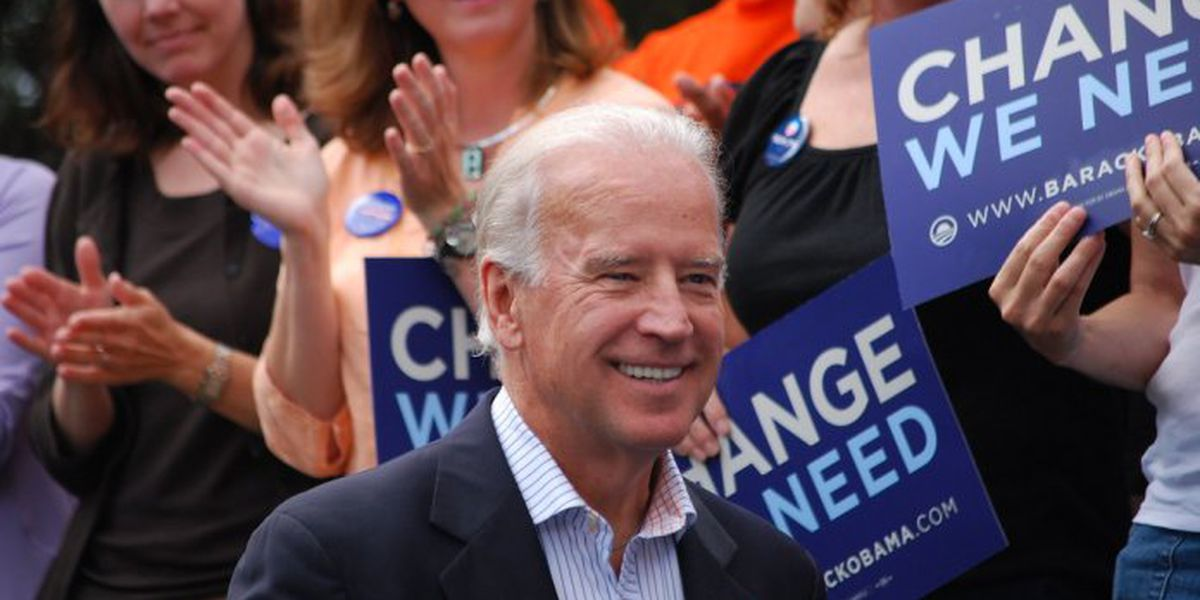 Biden rallies Virginia Democrats days before state election