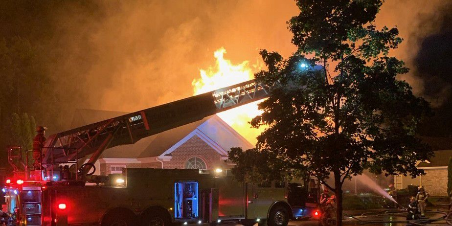 Fire Marshal: 6 residential fires likely sparked by lightning; condo fire displaces six people