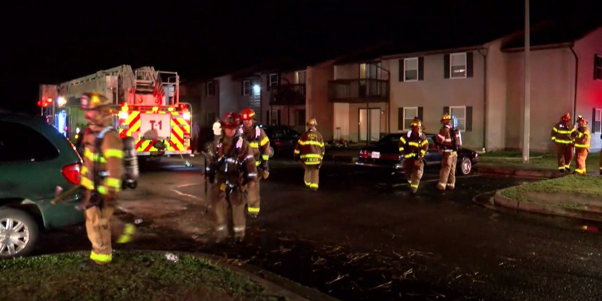 15 people displaced after fire at Essex Village apartments