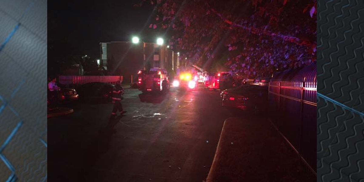 Fire at Midlothian Village Apartments displaces family