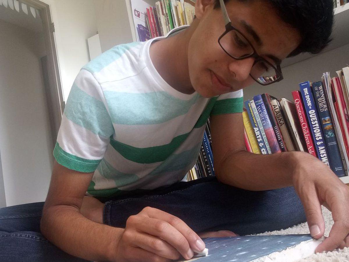 Virginia high school student wins international art contest