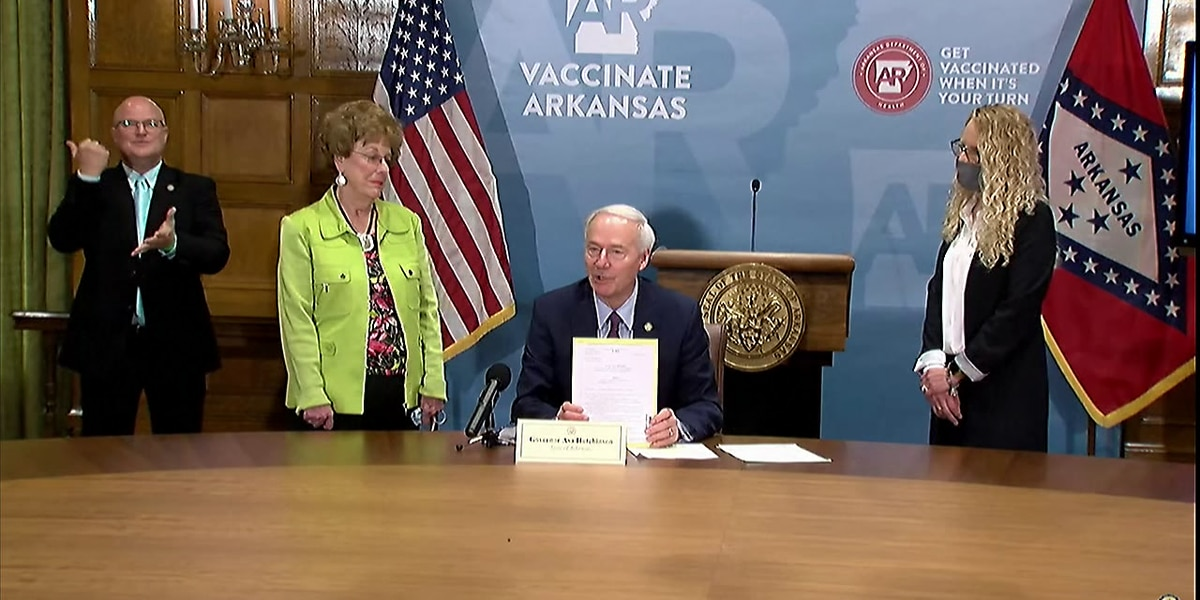 Arkansas governor vetoes transgender youth treatment ban