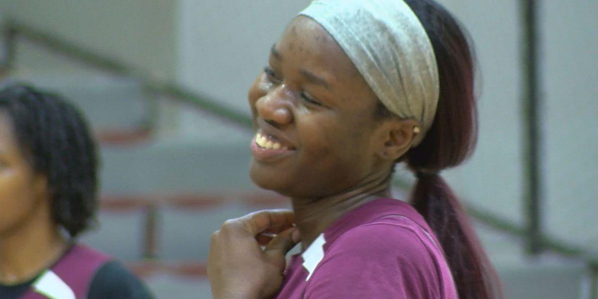 Virginia Union's Okoye settling into new country