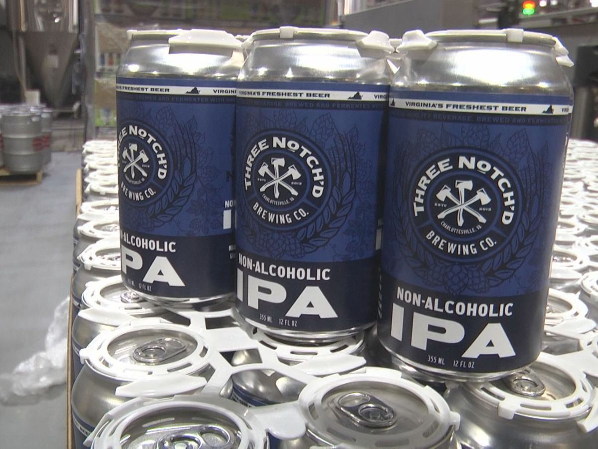 Three Notch'd Brewing Company offering non-alcoholic IPA