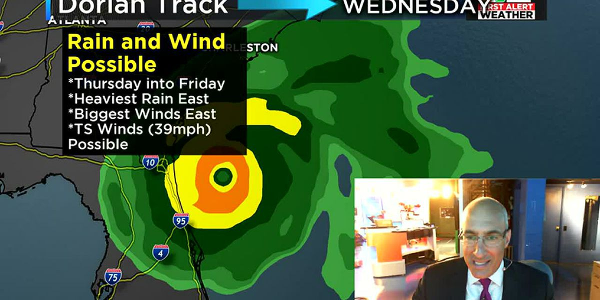 VA remains in the 'cone of concern' as Dorian moves towards coast