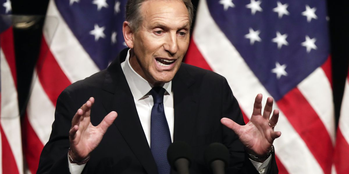Ex-Starbucks CEO Schultz rules out independent 2020 bid